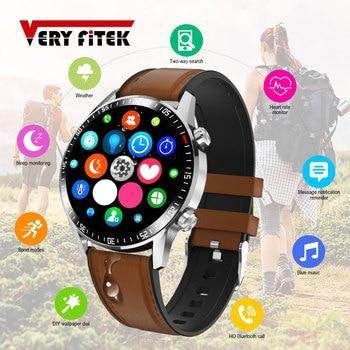Q88 Smart Watch Bluetooth Call 46MM Full Round Watch Heart Rate Monitor Dial Answer Call Sport Fitness Men Smartwatch IWO