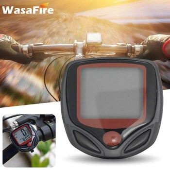 Odómetro de bicicleta a prueba de agua, velocímetro con pantalla Digital LCD,...