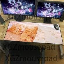 XGZ большой размер животных коврик для мыши милый кот шаблон киберспорт настольный коврик домашний мульти выбор высокое качество клавиатуры