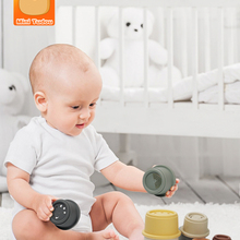 Baby Toy Nesting-Ring-Tower Stacking-Cups Early-Educational-Toys 12-Months for Infant