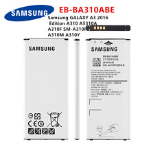 SAMSUNG Orginal EB-BA310ABE 2300mAh battery For Samsung GALAXY A3 2016  Edition A310 A5310A  A310F SM-A310F A310M A310Y стоимость