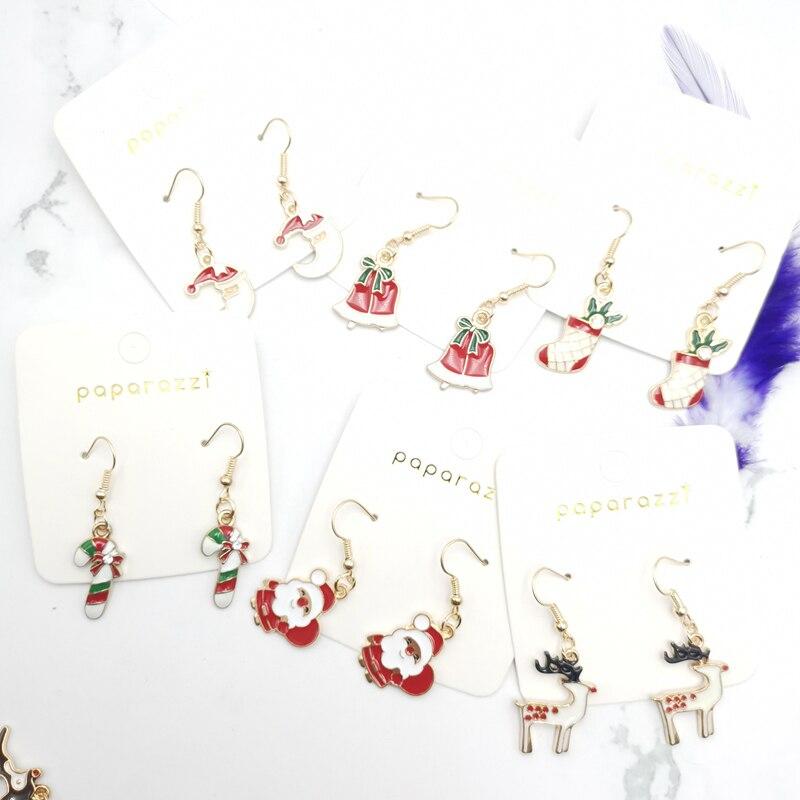 Piercing earrings ladies christmas decoration girlfriend gifts