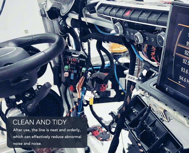 Ruban adhésif en tissu résistant à la chaleur pour Cadillac Escalade, CTS,SRX, BLS, ATS,STS, XTS, SXT  
