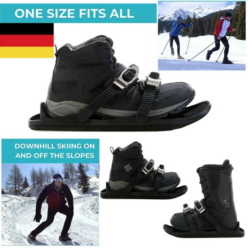 Neue Winter Mode Mini Ski Skates Snowfeet für kurze Snowboard Ski Bord Sport Schnee Skischuhen