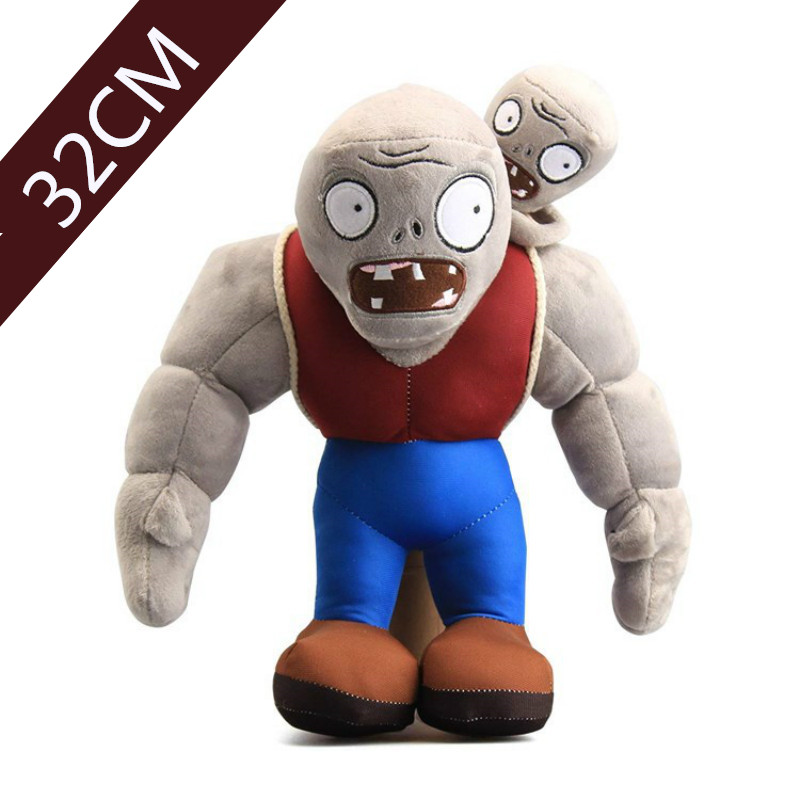 30cm Game Plants VS Zombies Gargantuar Zombie Plush Zombie PVZ Gargantuar Plush Soft Stuffed Toys Doll Gifts For Kids Children
