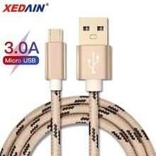 Micro USB Cable 3A Fast Charging USB Data Cable Mobile Phone Charging Cable for Samsung Huawei Xiaomi HTC Android Tablet Cables стоимость