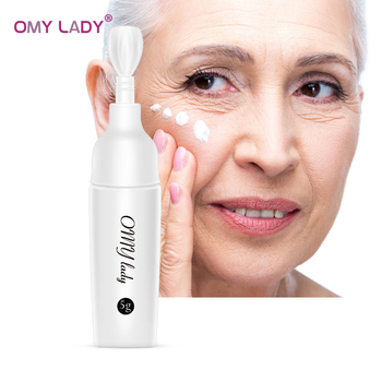OMY LADY Eye Cream Peptide Collagen Serum Anti-Wrinkle Anti-Age Remover Dark Circles Eye Care Against Puffiness And Bags недорого