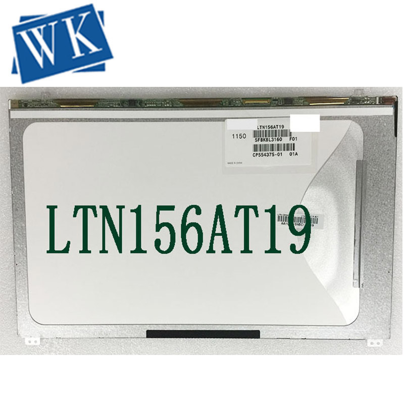 Free shipping Brand new and Original 15.6 WXGA LTN156AT19 LTN156AT18 N156BGE-E52 LTN156AT19-001 LTN156AT19-501