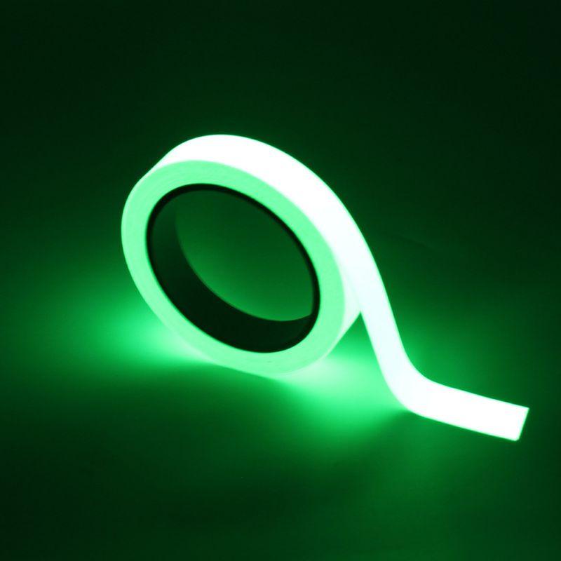 Glow In The Dark Tape Luminous Tape Self-adhesive Night Luminous Fluorescent Sticker Home Decoration Luminous New