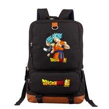 Dragon ball z mochila feminina harajuku saco de viagem mochilas para adolescentes sacos de escola para meninas com zíper saco um dos