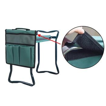 Portable Oxford Garden Kneeler Seat Tool Bag Outdoor Work Cart For Knee Stool Gardening Tools Storage Pouchs Toolkit