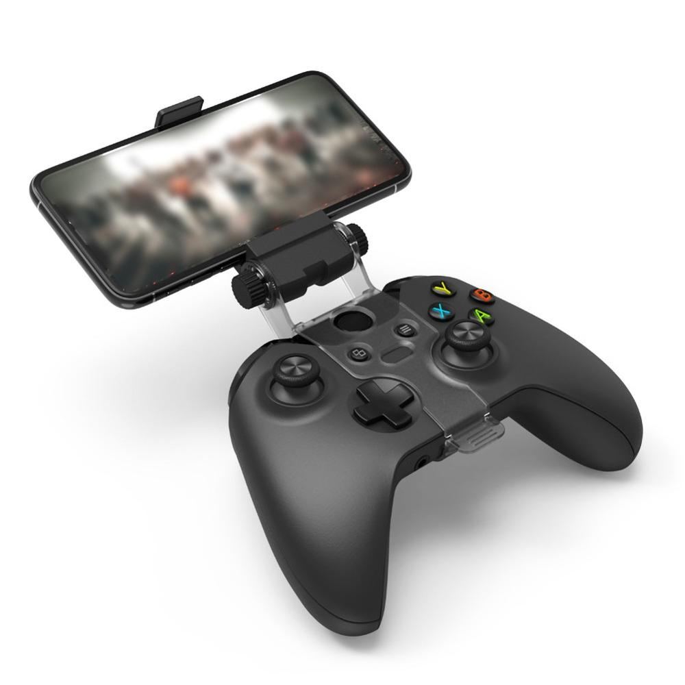 Phone Mount HandGrip Stand For Xbox ONE S/Slim Ones Controller For Steelseries Nimbus Gamepad Iphone X Samsung S9 S8 Clip Holder