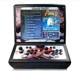 19 pulgadas 2 jugadores LCD Pandora caja que funciona con monedas Mini bar de mesa familiar Máquina de juego de salón recreativo Raspberry PI 4B Barra de lucha