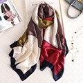 2019 marca de luxo mulheres cachecol de seda verão cachecóis xales senhora envolve macio pashimina feminino echarpe designer praia roubou bandana