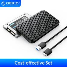 Hard-Drive Enclosure-Case SSD ORICO Support HDD with Usb-3.0 UASP 5gbps External DIY