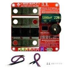 DIY Portable 12V Battery Energy Storage Spot Welding Machine PCB Circuit Board Spot Welder PCB Board for 18650/26650 KX4B