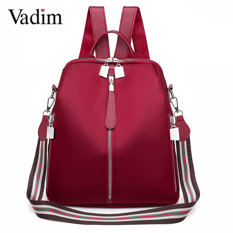 Vadim Hot Sale Bags  Women Bagpack Multifunction Female Shoulder Bag Ladies Anti Theft Backpack For Girls Schoolbag Sac A Dos