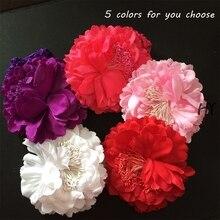 1 Pcs/lot Girls Boutique Flowers Hairband Children Fashion Hair Band Flower Headband Teeth
