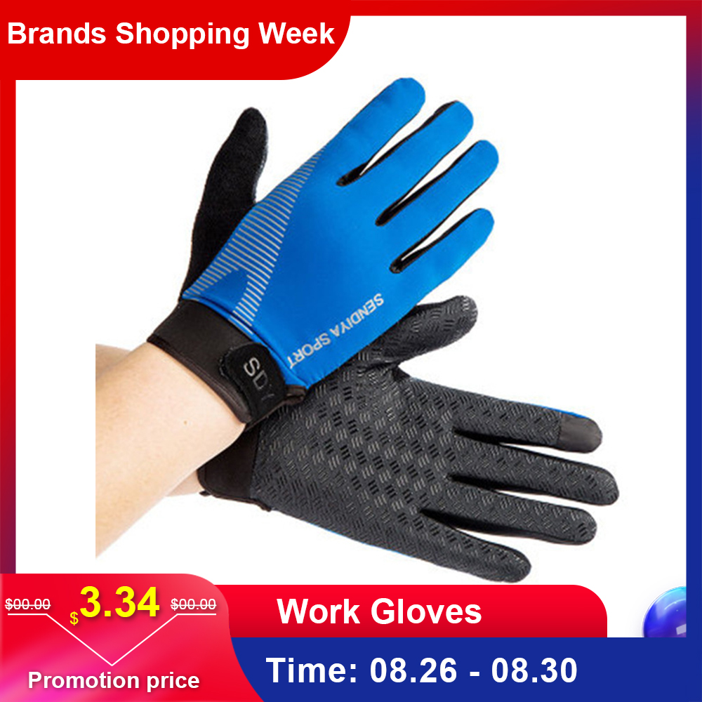 Work-Gloves Touch-Screen Anti-Cut Non-Slip Full-Finger And Soft Breathable Women's