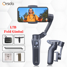 Orsda 3 Axis H2 H4 S5B L7B Gimbal Stabilizer for Smartphone Action camera Video Record tik Youtube tiktok tok Vlog Live