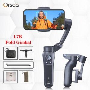 Image 1 - Orsda 3 axes H2 H4 S5B L7B stabilisateur de cardan pour Smartphone caméra daction enregistrement vidéo tik Youtube tiktok tok Vlog en direct