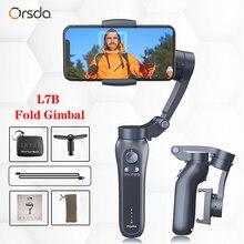 Orsda 3 eixos H2 H4 S5B L7B cardan estabilizador para smartphone câmera de ação vídeo registro tik youtube tiktok tok vlog ao vivo