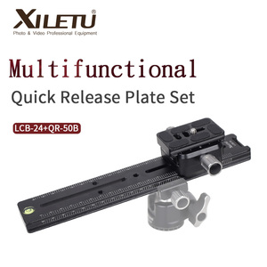 Image 1 - XILETU LCB 24B Track Dolly Slider Focusing Focus Rail Slider & Clamp and QR Plate Meet Arca Swiss For DSLR Camera Canon