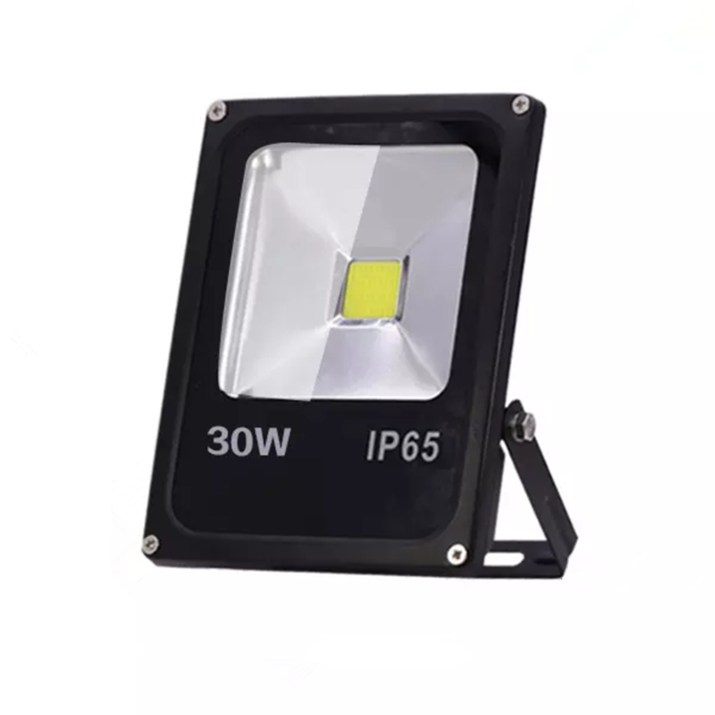 <font><b>LED</b></font> Flood Light <font><b>10W</b></font> 30W 50W AC220V <font><b>Reflector</b></font> <font><b>LED</b></font> IP65 Outdoor Waterproof Motion Sensor Wall Light Colorful RGB Spotlight image