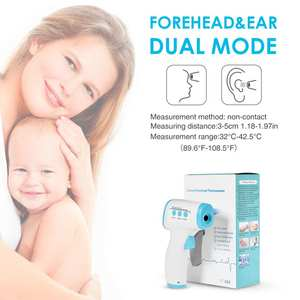 In Stock Digital Thermometer Infrared Baby Adult Forehead Non-contact Infrared Thermometer