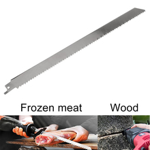 300mm Reciprocating Saw Blade Meat Bone Ice Cutting Stainless Steel Sawblade Power Meat Cutter, Meat Saws, Saw For Bone Meat