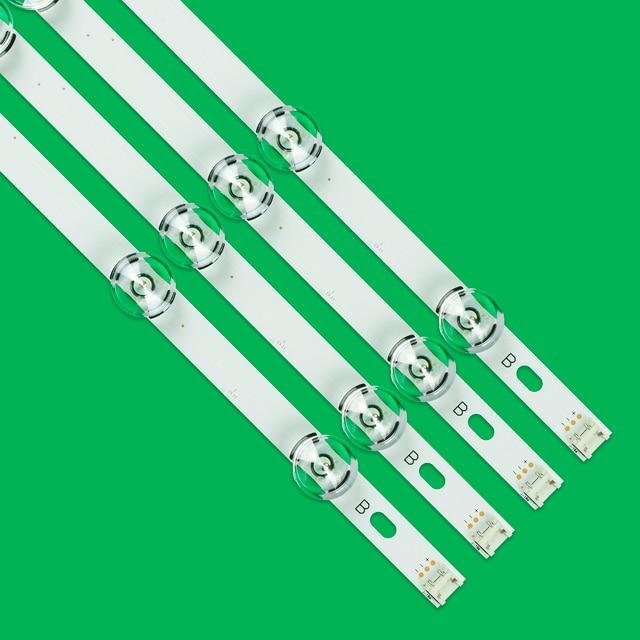 LED Backlight Lamp strip 8 leds For LG 42LY320C LC420DUE INNOTEK DRT 3.0 42 inch TV 42LY540H 42LF652V 42LF653V 42LB5510 6