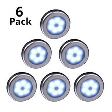 6 шт Ночной светильник светодиодный датчик движения pir инфракрасный