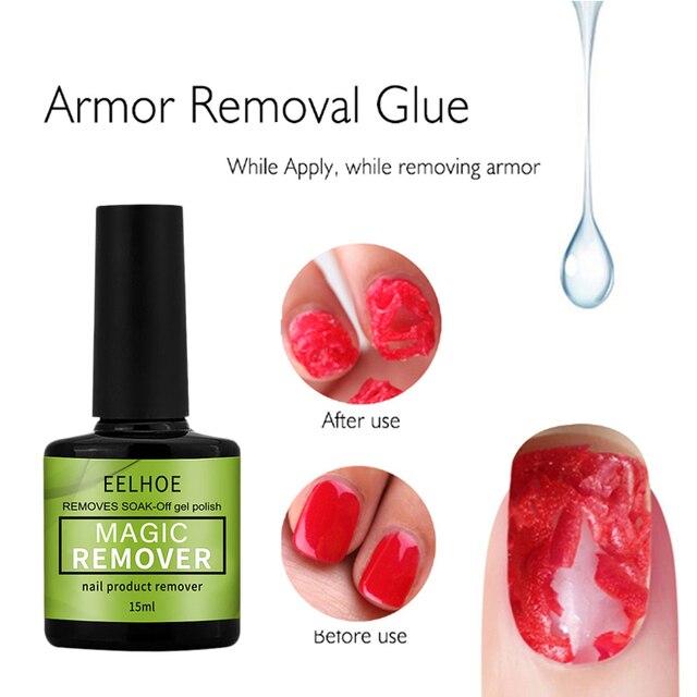 15ml Magic Burst Nail Gel Remover UV Gel Remover Fast Manicure Semi Permanent Nail Polish Soak Off Remover Polish Dropship 2
