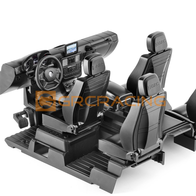 Full Interior Decoration Cab Seat For 1/10 RC Crawler Car TRX4 G500 TRX6 G63 DIY Modification