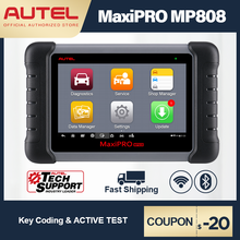 Autel MaxiPRO MP808 Diagnostic Tool OBD2 Professional OE level OBDII Diagnostics Tool Key Coding PK MaxiDAS DS808 DS708  MS906
