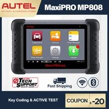 Autel MaxiPRO MP808 진단 도구 OBD2 전문 OE 레벨 OBDII 진단 도구 키 코딩 PK MaxiDAS DS808 DS708 MS906