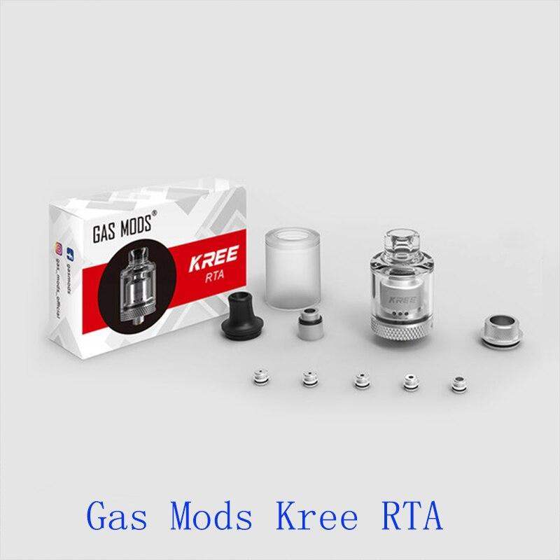 Electronic Cigarette Atomizer Gas Mods Kree RTA 3.5ml Tank Capacity & Airflow System Vs Zeus X/zeus Subohm