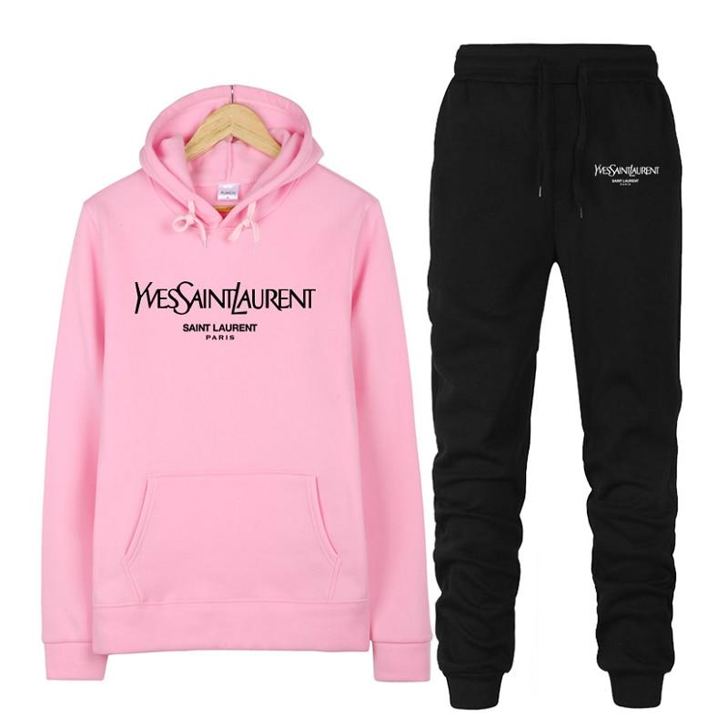 Women's Brand Sportswear Sets,Women Casual Clothing Sets,2020 Suit Female New,Women's Sports Hooded Sets,Two Piece Sweatshirts