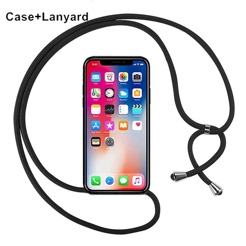 Telefon Fall Crossbody Halskette Schnur Lanyards für Xiaomi Schwarz Shark Mi Spielen PocoPhone F1 A2 A3 Lite Anmerkung 10 Pro mix 2 2s 3 Abdeckung