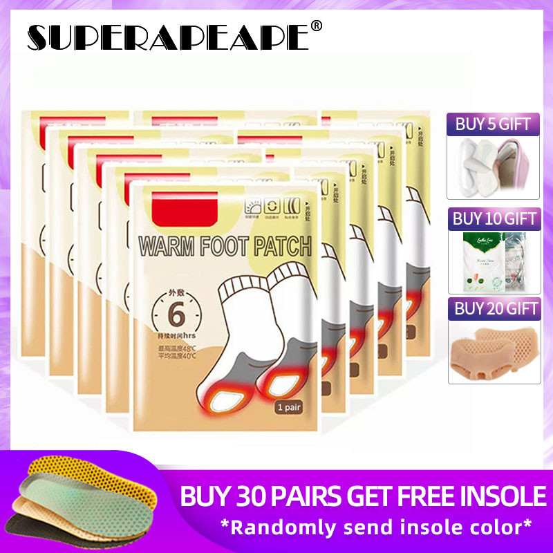 Self-heating Insole Heating Body Warm Foot Paste Hot Post Winter Breathable Warm Foot Insoles Warm Insole Heated Insole