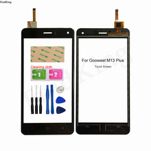 Touch Screen Panel For Timmy M13 PRO M13 PLUS Gooweel M13 PRO MTK6580 TouchScreen Digitizer Sensor Front Glass