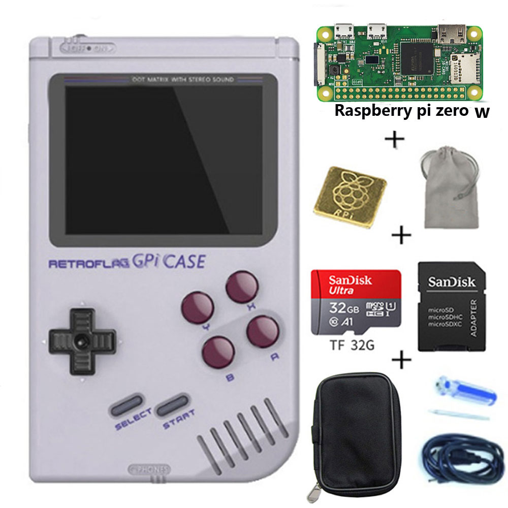 Retroflag GPi CASE For Raspberry Pi Zero And Zero W With Safe Shutdown