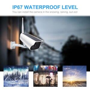 Image 3 - ZILNK cámara Solar para exteriores, inalámbrica, WIFI, CCTV, 1080P, 2.0MP, HD, seguridad impermeable, vigilancia, energía Solar, IP, en la nube