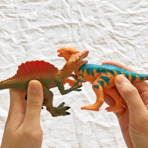 Image 5 - Jurassic Park Dinosaur Toys Model for Child Dragon Toy Set for Boys Velociraptor Animal Action Play Figure One Piece Home Deco