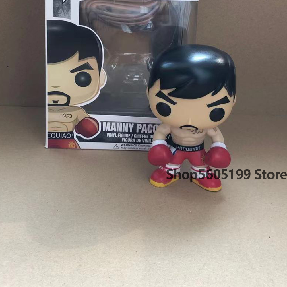 NEW! POP Manny Pacquiao #37  with box Vinyl Action Figures Model Toys for Children gift