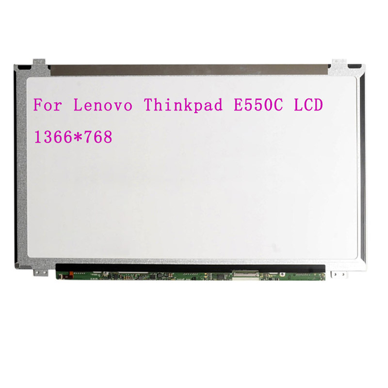 "Para lenovo thinkpad e550c e555 20dh série 15.6 ""led tela lcd edp 30pin display"