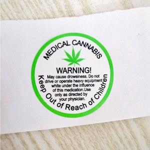 Image 3 - Pegatinas de advertencia de 2020 pulgadas, 1,5 Uds./rollo, etiquetas adhesivas, etiqueta de advertencia médica para advertencia e indicación, nueva tendencia de 500