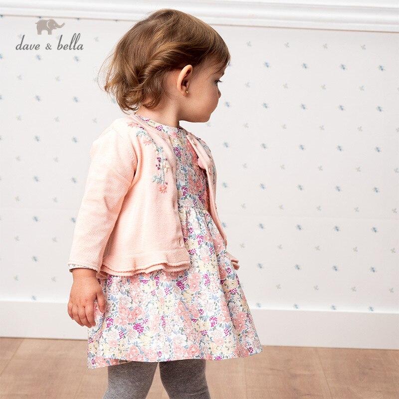 Детский вязаный кардиган с рюшами, с цветочным принтом, для маленьких девочек, пальто для малышей, на весну|Свитера| | АлиЭкспресс