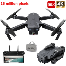Profession RC Drone 4K HD Camera 50X Times Zoom WIFI FPV Foldable Quadcopter Helicopter Professional Drones Stable Height