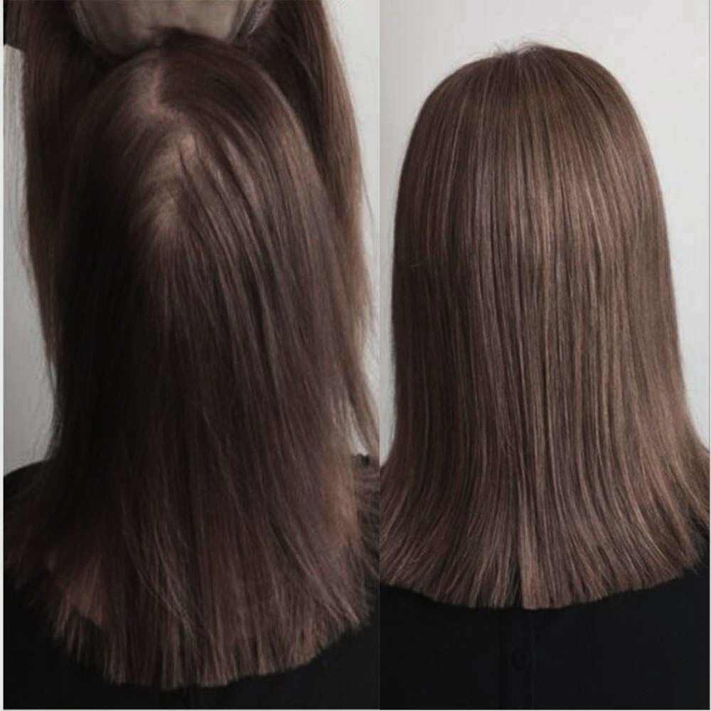 Brilho completo cabelo topper base de seda 13*13cm invisível pedaço de cabelo com clipes 100% máquina feita remy extensões de cabelo coroa mono base